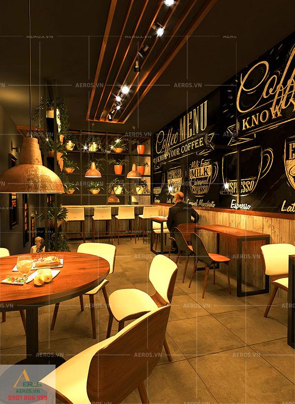 Thiết kế nội thất quán cafe Coffee Club tại quận 3, TP.HCM