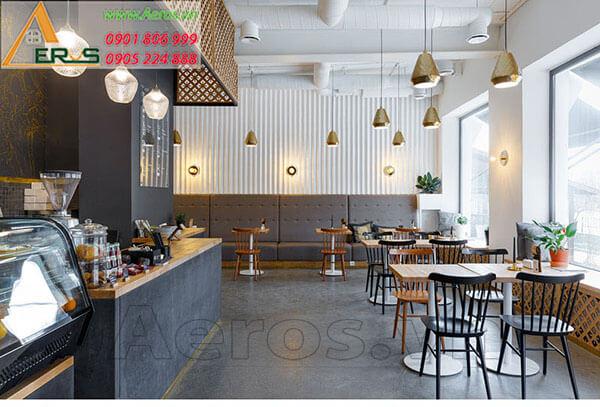 Thiết kế thi công quán cafe đẹp
