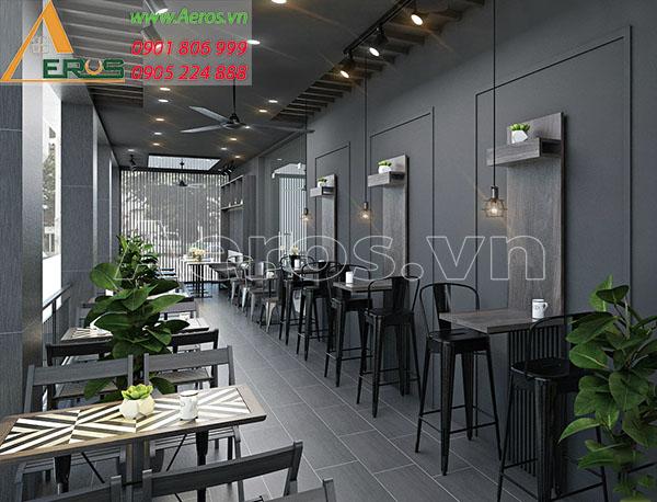 Thiết kế nội thất quán cà phế Nam Coffee & Tea tại quận Thủ Đức