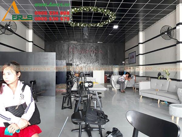 Hình ảnh thiết kế thi công quán trả sữa Hangcha - TP Tây Ninh