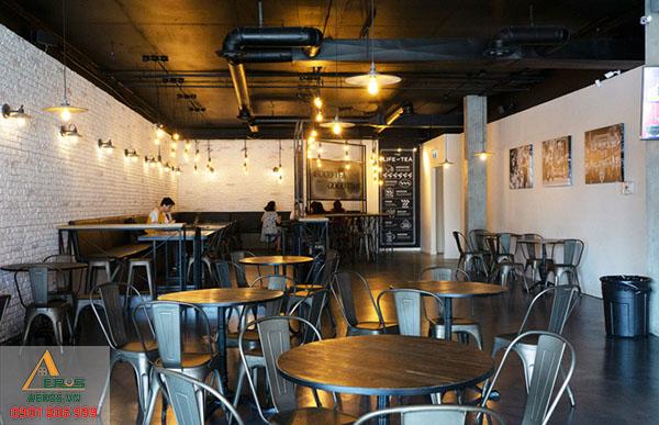 Thiết kế nội thất quán trà sữa Chatime tại quận 6, TP.HCM