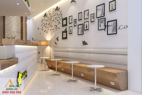 Thiết kế thi công nội thất quán trà sữa Toco Toco tại quận 1, TP.HCM
