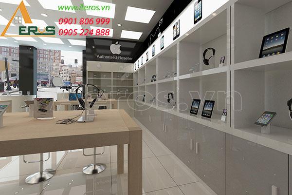 Thiết kế shop điện thoại Apple của anh Quốc tại quận 1, TP.HCM