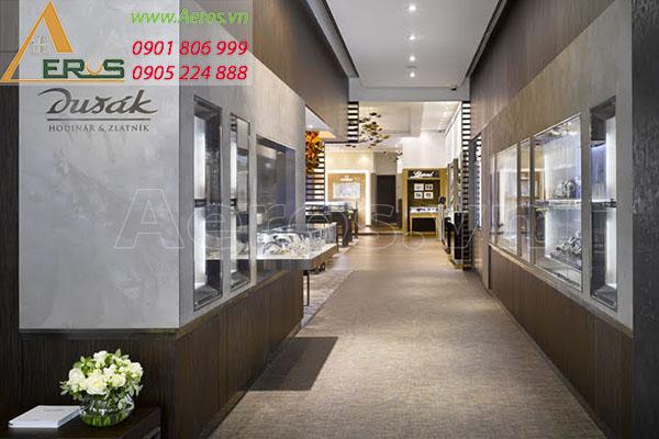 Thiết kế thi công shop đồng hồ Dusak - quận 5, TP.HCM