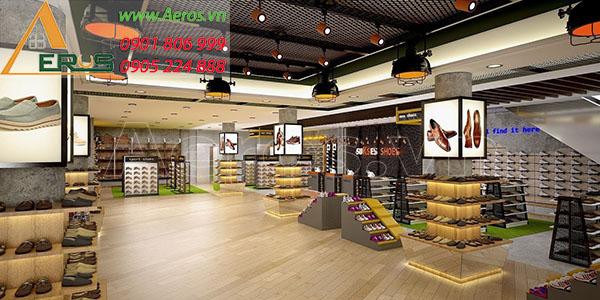 Thiết kế thi công shop giày dép Sukses tại quận 3, TP.HCM