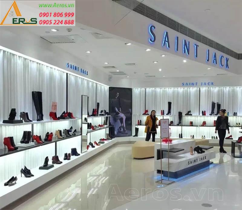 Thiết kế thi công cửa hàng giày dép đẹp