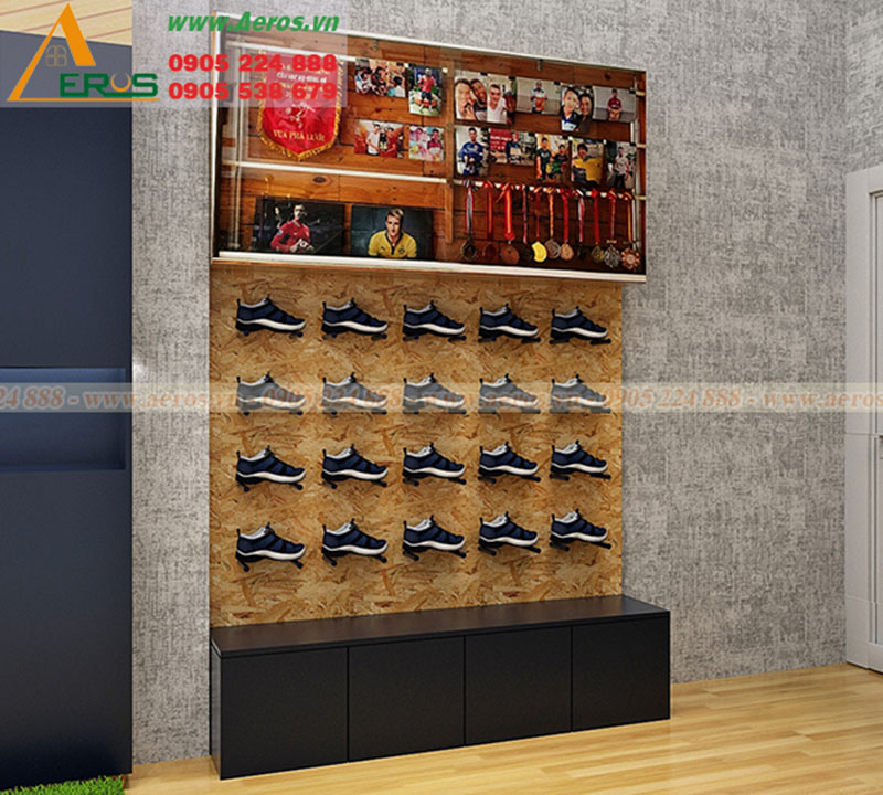 thiết kế shop giày thể thao neymarsport