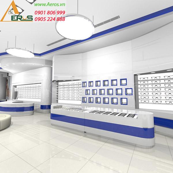 Thiết kế shop mắt kính của chị Trang tại quận 5, TP.HCM