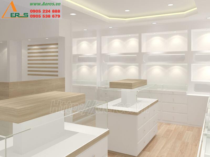 Thiết kế thi công shop mắt kính Ace - Tân Bình