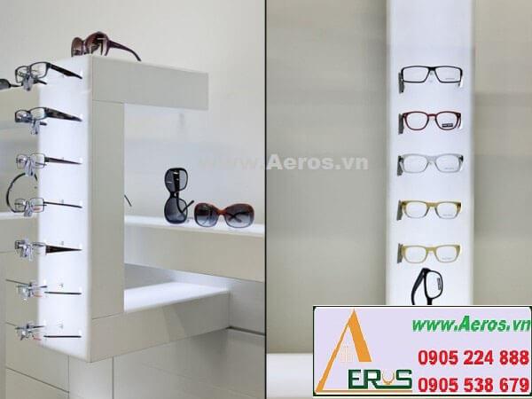 Hình ảnh thiết kế thi công shop mắt kính