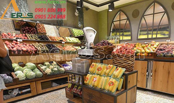 Top 10 mẫu cửa hàng nông sản đẹp 2019
