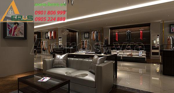 Thiết kế thi công shop thời trang của chị Quyên tại quận 1, TP.HCM