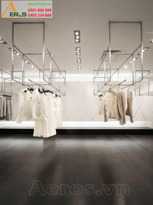 Thiết kế thi công nội thất shop thời trang Casserra