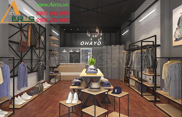 Thiết kế nội thất shop thời trang Ohayo tại quận 3, TP.HCM