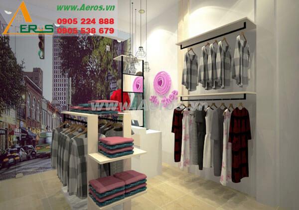 Hình ảnh thiết kế thi công An Shop
