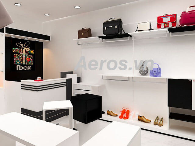 Hình ảnh thiết kế shop thời trang