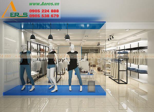 Thiết kế thi công shop thời trang chị Nga - Quận 10