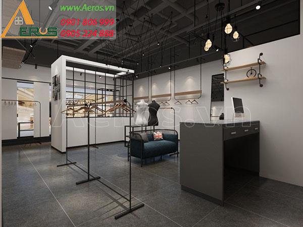 Thiết kế nội thất shop thời trang của chị Ngân tại quận 3, TP.HCM