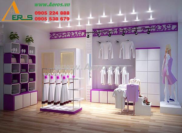 Thiết kế thi công shop thời trang chị Thảo - Gò Vấp