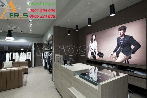 Thiết kế nội thất shop thời trang Elise tại quận 7, TP.HCM