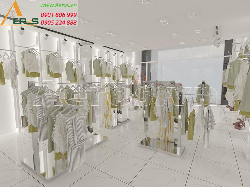 thiết kế shop thời trang Mentosa quận Tân Bình, TPHCM