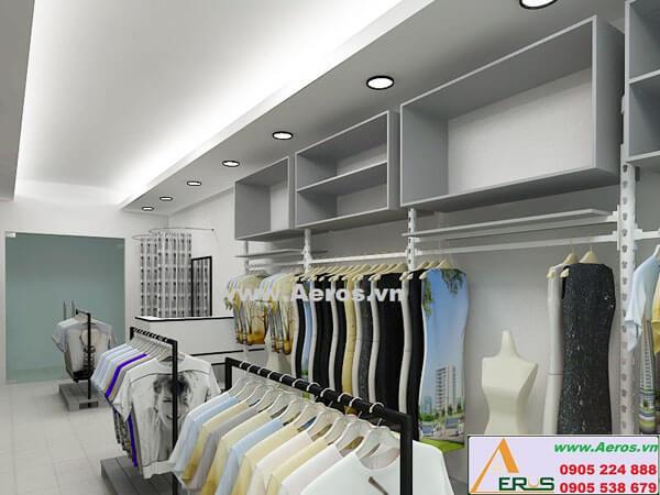 Hình ảnh thiết kế thi công shop thời trang