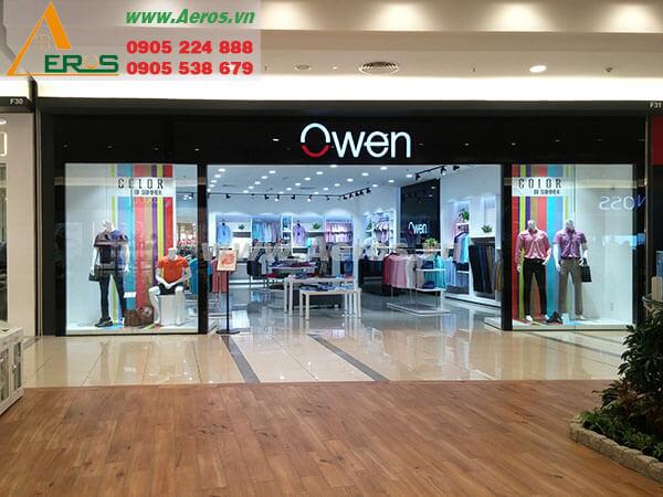 Thiết kế shop thời trang Owen - Quận 2