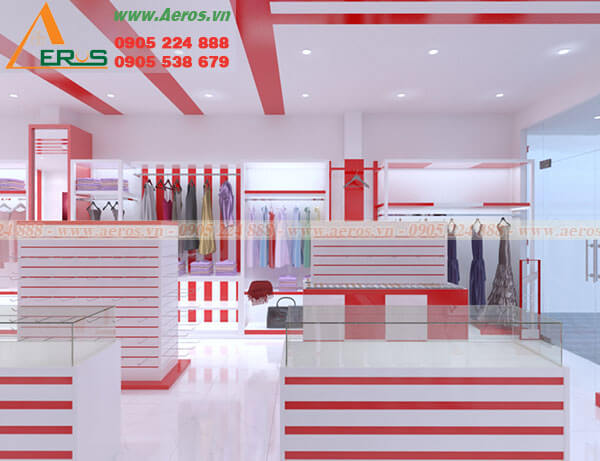 thiết kế showroom thời trang