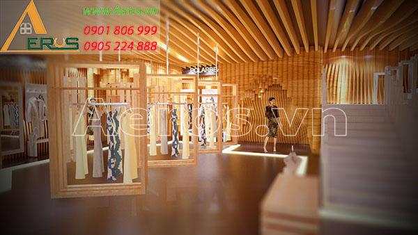 Thiết kế nội thất shop quần áo Suno của anh Văn tại quận 8, TP.HCM