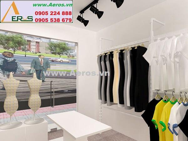 Hình ảnh thiết kế thi công shop Tâm Anh
