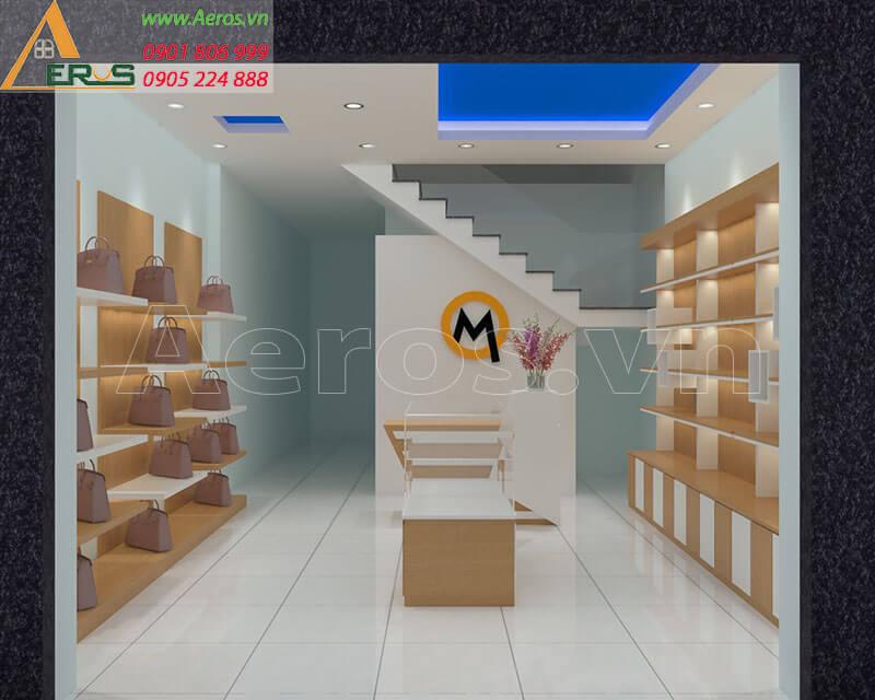 Thiết kế thi công shop túi xách anh Nghĩa