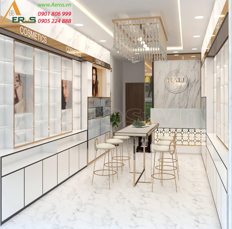 Thiết kế shop mỹ phẩm Hali Group