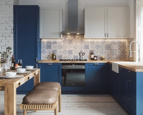 45 Mẫu tủ bếp chữ L hiện đại tận dụng tốt cho căn hộ của bạn