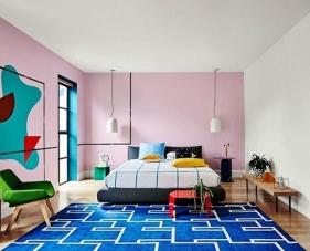 35 Cách sơn tường đẹp và sáng tạo dành cho không gian phòng ngủ của bạn