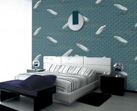 Cách trang trí giấy dán tường phòng ngủ hiện đại