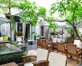 4 Cách trang trí quán cafe sân vườn đơn giản mà đẹp mắt