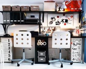 Sắp xếp và bố trí không gian làm việc cho căn nhà nhỏ đầy sáng tạo