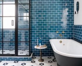 25 Mẫu gạch ốp tường phòng tắm đẹp khiến bạn không thể cưỡng lại