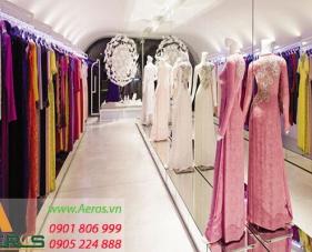 Top 10 mẫu thiết kế cửa hàng áo dài đẹp và hút khách hàng nhất