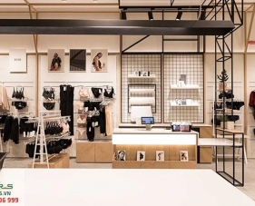 Top 30 mẫu thiết kế cửa hàng đồ lót đẹp nhất