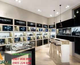 Top 10 mẫu thiết kế cửa hàng đồng hồ đẹp nhất 2019