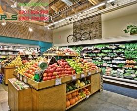 Top 10 mẫu thiết kế cửa hàng hoa quả sạch thu hút khách hàng