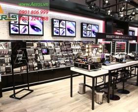 Top 10 mẫu thiết kế cửa hàng makeup hút khách nhất