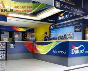 Top 10 mẫu thiết kế cửa hàng sơn hút khách nhất