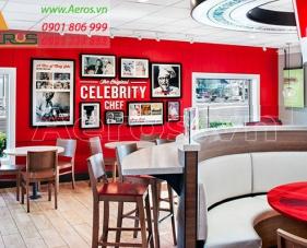 Top 10 mẫu thiết kế cửa hàng thức ăn nhanh hiện đại nhất