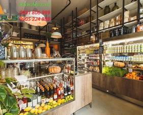 Top 10 mẫu thiết kế cửa hàng thực phẩm sạch đẹp nhất 2019