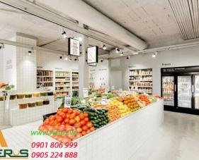 Top 10 mẫu thiết kế cửa hàng trái cây đẹp nhất 2019
