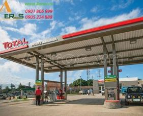 Top 30 mẫu thiết kế cửa hàng xăng dầu hiện đại nhất