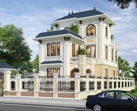 Mẫu thiết kế nhà đẹp 160m2 đẹp sang trọng và đẳng cấp