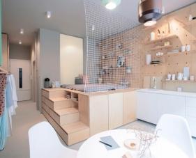 Mẫu thiết kế nội căn hộ chung cư 30m2 đẹp #2